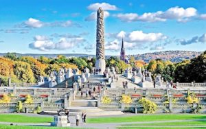 Oslo-Monolitten-Vigelandsparken